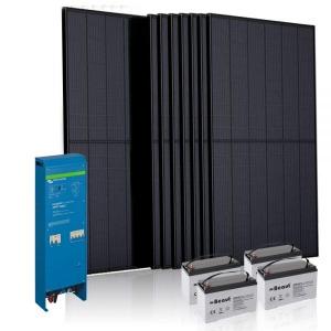 Off grid paket solceller